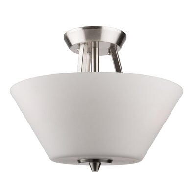 Kenilworth 3-Light Semi Flush Mount