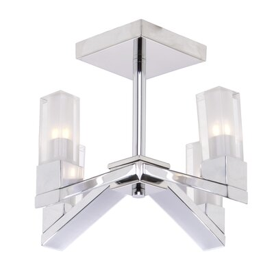 Athena 4-Light Semi Flush Mount