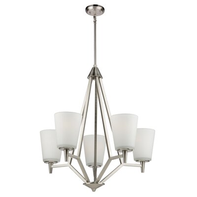 Kenilworth 5-Light Shaded Chandelier