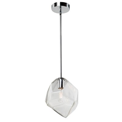 Burgoyne Abstract Shade 1-Light Mini Pendant