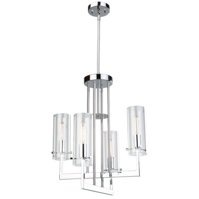Brinkley 4-Light Candle-Style Chandelier