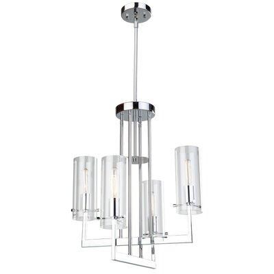 Aqunita 4-Light Candle-Style Chandelier