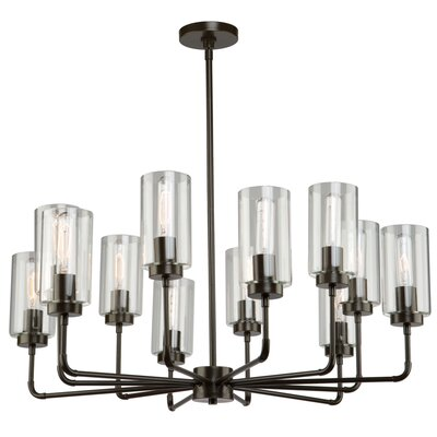 Ray 12-Light Candle-Style Chandelier