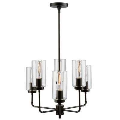 Taurla 6-Light Shaded Chandelier
