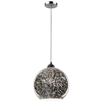 Burgoyne 1-Light Glass Shade Mini Pendant