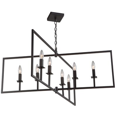 Camillea 8-Light Foyer Pendant Finish: Oil Rubbed Bronze