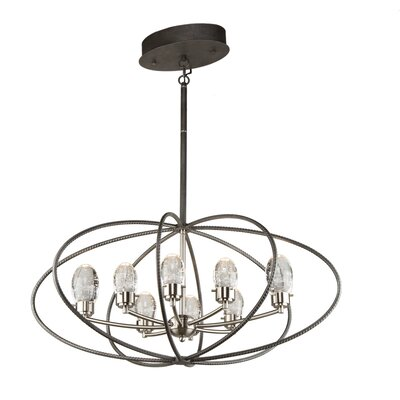 Kingsford 4-Light Geometric Pendant