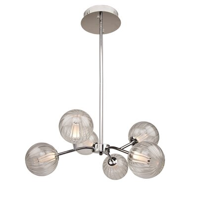 Gordillo 6-Light Sputnik Chandelier