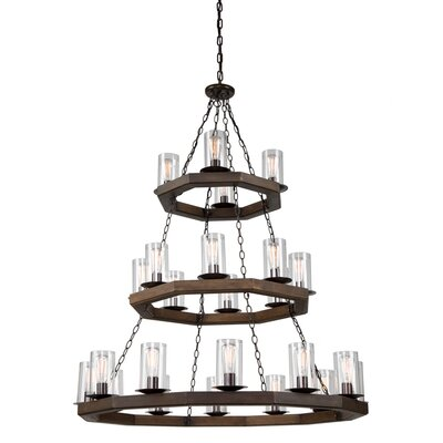Akilah 24-Light Candle-Style Chandelier