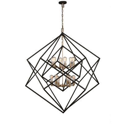 Artistry 12-Light Geometric Pendant