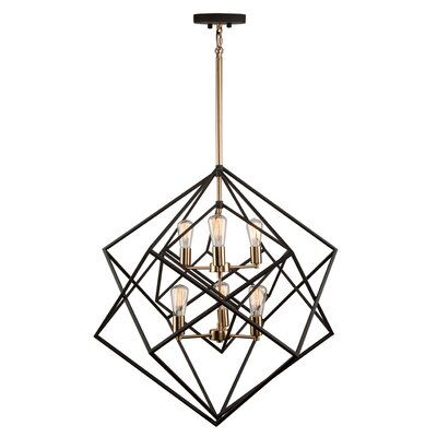 Deschenes 6-Light Geometric Pendant