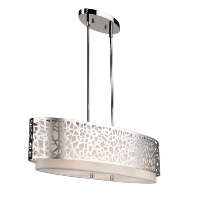 Krystyna 3-Light Kitchen Island Pendant