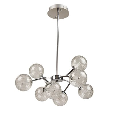 Gordillo 8-Light Sputnik Chandelier