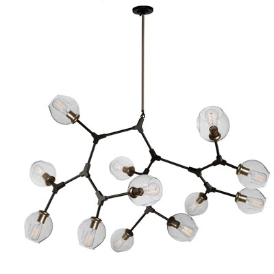 Efird 12-Light Sputnik Chandelier Finish: Vintage Bronze