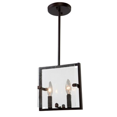 Harbor Point 2-Light Lantern Pendant Finish: Oil Rubbed Bronze