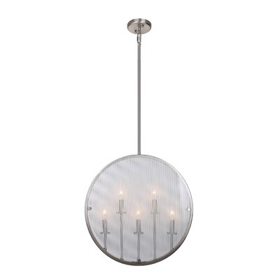 Harbor Point 5-Light Pendant Finish: Satin Nickel