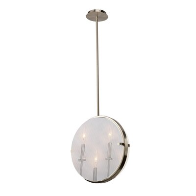 Harbor Point 3-Light Pendant Finish: Satin Nickel