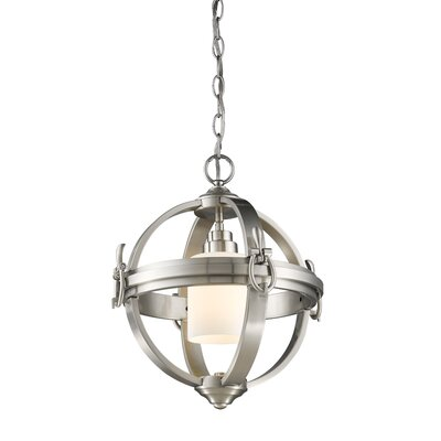 Thornley 1-Light Globe Pendant