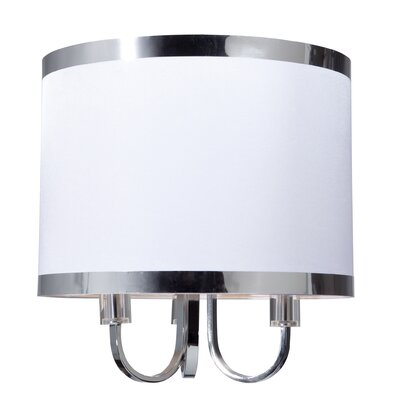 Madison 3-Light Flush Mount Finish: White