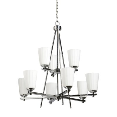Raleigh 9-Light Candle-Style Chandelier