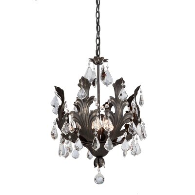 Prestige 8-Light Crystal Chandelier Finish: Bronze