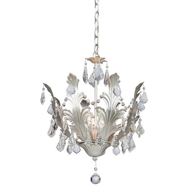 Prestige 8-Light Crystal Chandelier Finish: Silver