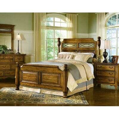 buy low price southern living blue ridge retreat poster bedroom set in