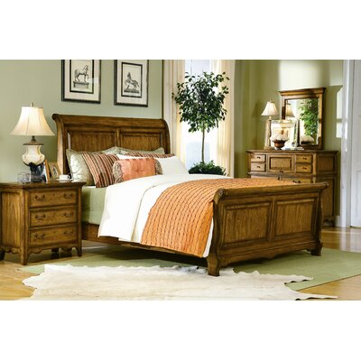 buy low price southern living blue ridge retreat sleigh bedroom set in