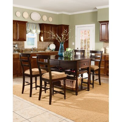 price southern living gresham park 5 piece drop leaf island dining set