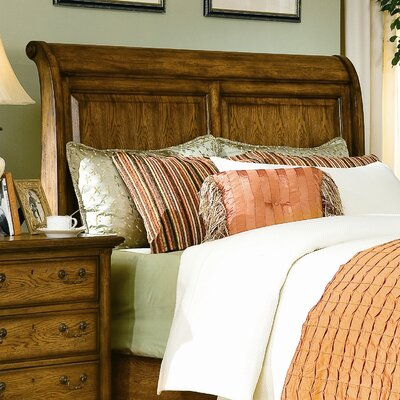 Easy financing Blue Ridge Retreat Sleigh Headboard...