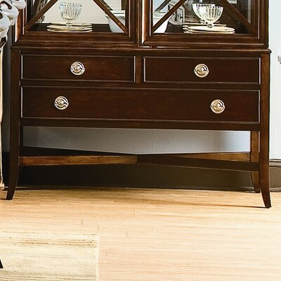 Cheap Southern Living Urban Heights Sideboard In Chocolate Cherry (SRV1156)