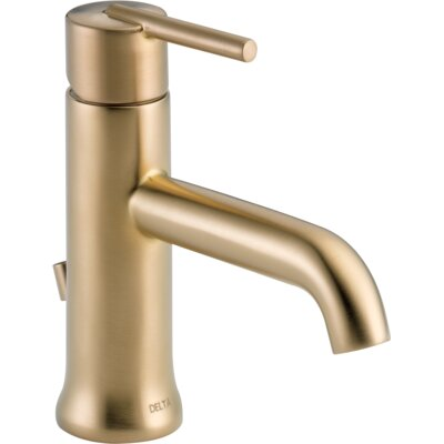 Trinsic Bathroom Single Handle Centerset Bathroom Faucet Finish: Brilliance Champagne Bronze
