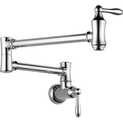 Cassidy Pot Filler Finish: Chrome