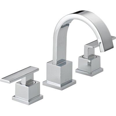 Vero Two Handle Widespread Bathroom Faucet Finish: Chrome