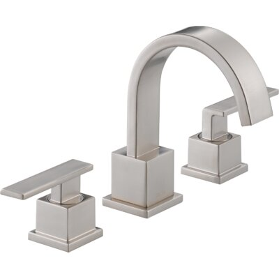 Vero Two Handle Widespread Bathroom Faucet Finish: Brilliance Stainless
