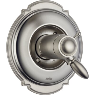 Victorian Diverter Valve with Handle and Trim Finish: Brilliance Stainless