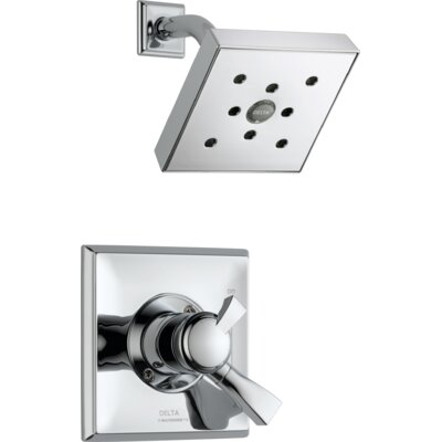 Dryden Pressure Balance Shower Faucet Trim Finish: Chrome