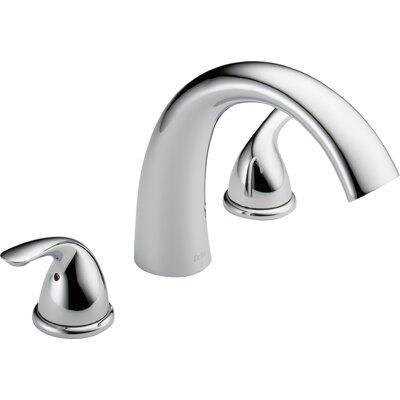 Other Core Double Handle Deck Mount Roman Tub Faucet Trim