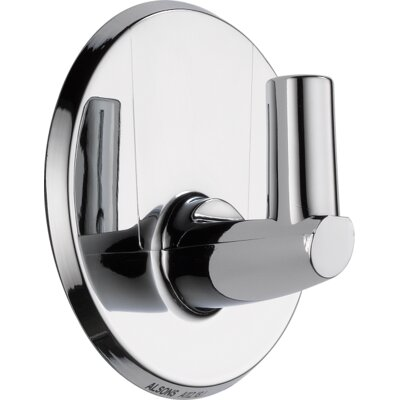 Universal Showering Components Pin Wall Mount for Hand Shower Finish: Chrome, Mount Type: Adhesive Mount