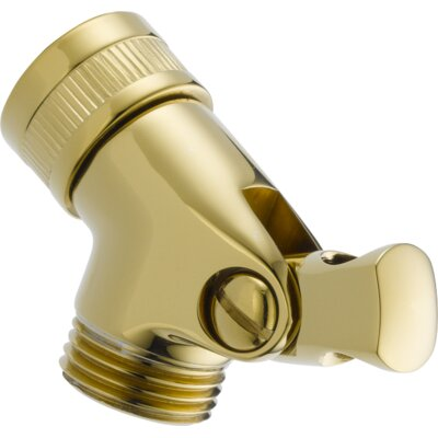 Pin Mount Swivel Connector For Handshower Finish: Brilliance Polished Brass