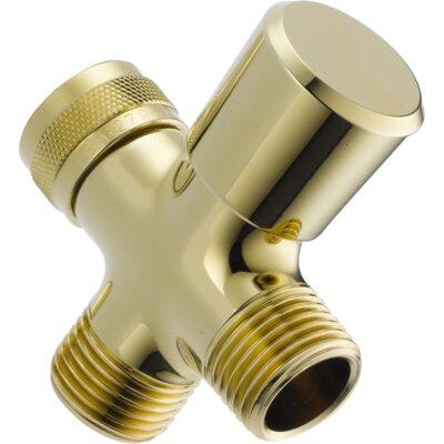 Universal Showering Components 3-Way Arm Diverter Valve Finish: Brilliance Polished Brass