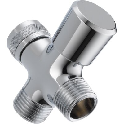 Universal Showering Components 3-Way Arm Diverter Valve Finish: Chrome