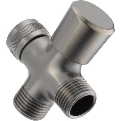 Universal Showering Components 3-Way Arm Diverter Valve Finish: Brilliance Stainless