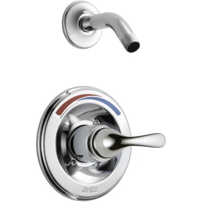 Other Core Pressure Balanced Shower Trim with Metal Lever Handle Finish: Chrome