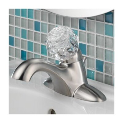 Core 520/522 Series Standard Bathroom Faucet Single Handle Optional Accessory: Metal Pop Up Drain Included
