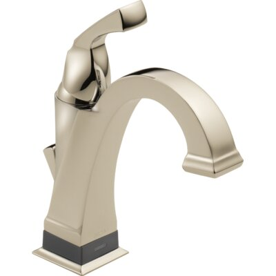 Dryden? Single hole Single Handle Bathroom Faucet with Drain Assembly Finish: Brilliance Polished Nickel