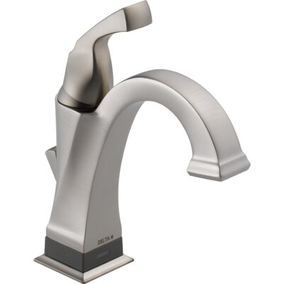 Dryden? Single hole Single Handle Bathroom Faucet with Drain Assembly Finish: Brilliance Stainless