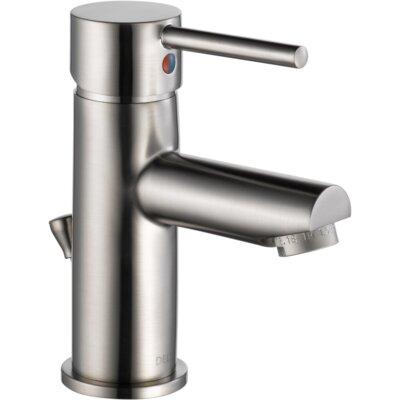 Trinsic� Bathroom Single Handle Single Hole Bathroom Faucet Finish: Brilliance Stainless
