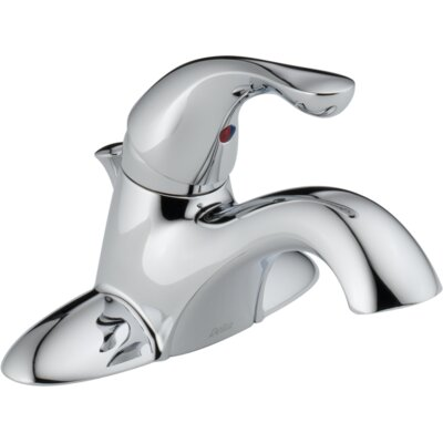 Single Handle Centerset Lavatory Faucet with Pop-Up Drain