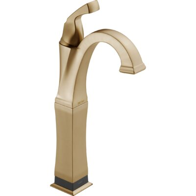 Dryden Standard Bathroom Faucet Lever Handle with Drain Assembly Finish: Brilliance Champagne Bronze